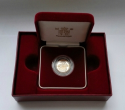Zlatá Mince Half Sovereign 2005 Proof (3,99 g./Zlato 917/1000)