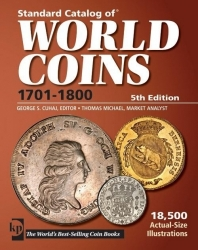 Standard Catalog of World Coins 1701 - 1800 (5th Edition)