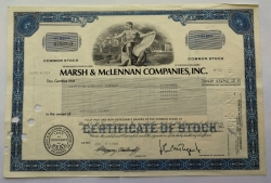 Akcie - Marsh McLennan companies, Inc. - USA