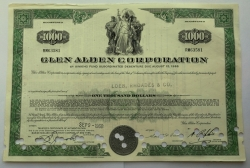 Akcie - Glen alden corporation - USA