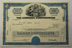 Akcie - The lubrizol corporation - USA