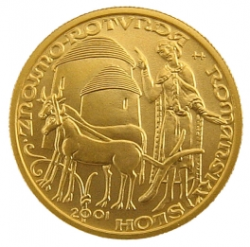 Rotunda ve Znojmě 2001 PROOF (6,22 g./Zlato 999,9/1000)